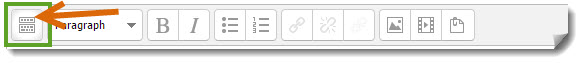Toolbar Toggle location